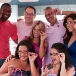 Terry Kirby (Miami Dolphins) - Froggy (Y100) - Lisa Langley (Glamathon Board member) - Jeff Shapiro (WSVN) - Vivian Gonzalez (WSVN) Nathalie Rodriguez (WMIA) - Nina (Y100)