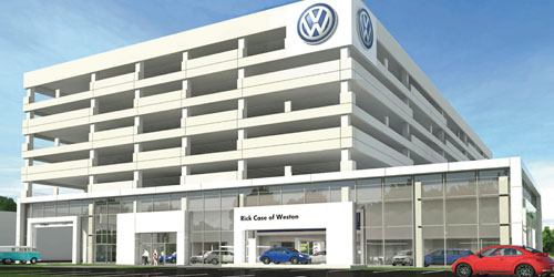 Rick Case Honda Weston >> Rick Case Volkswagen opening in Weston | City & Shore Magazine