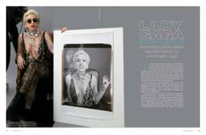 Lady Gaga April May 2011