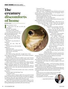 The Creature Discomforts of Home, March 2020-page-001