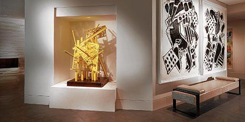 home designer collection. Home design to showcase an art collection  City Shore Magazine