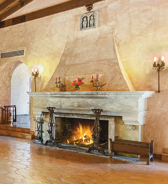 Designer Fireplaces Hot Even In South Florida City Shore Magazine