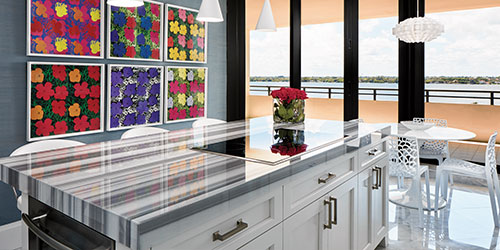 Kitchen Design Starts To Show Some Color