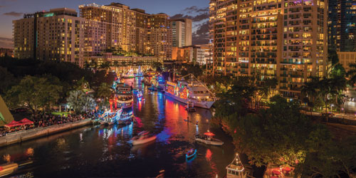 Fort Lauderdale Christmas Boat Parade.Behind The Scenes At Winterfest Boat Parade City Shore