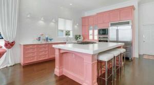 pink kitchen