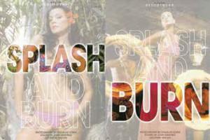 splash burn